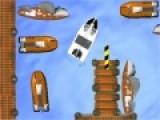 Игра парковка отличный повод, что бы научиться чувствовать габариты транспорта. Пришвартуй лодку, на указанное место и не столкнись с окружающими предметами.