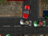 Игры про парковку машин придумали для тех, кто желает немного поупражняться в этом занятии. В данном случае Вам предстоит припарковать красный кабриолет на парковочное место, проехав через оживленную трассу.