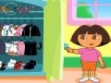Даша путешественница ни чем не отличается от обычных девочек. Она так же любит одеваться в красивую одежду. Одень Дашу в модный костюмчик, что бы она сделала красивое фото.