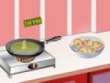 Вам нравится готовить еду, но вы знаете мало рецептов. В этой игре наш повар поделится с Вами рецептом вкуснейшего овощного рагу. Внимательно следуйте его советам, и приготовление этого блюда не вызовет затруднений.