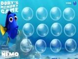 В это игре Вы должны помочь рыбке Дори найти парные картинки с рыбкой Немо и другими персонажами известного мультфильма В поисках Немо.