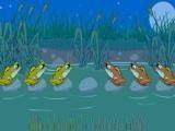 Смысл игры - переместить одну группу лягушек на место другой