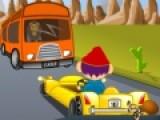Безумная езда это игра про гонки, которая подойдет даже для детей. Яркая графика подарит незабываемые впечатления от интересной игры. Используйте стрелки, что бы управлять автомобилем и объезжать препятствия.