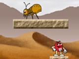 В этой игре Вам придется управлять одной из конфеток M&Ms. Бродите по лабиринтам затерянного мира, собирайте вкусные конфетки и убивайте насекомых. Что бы насекомое стало безвредным на него достаточно прыгнуть. Что бы управлять Вашим героем используйте стрелочки на клавиатуре.