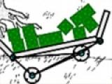 Проявите логику, что бы соорудить настоящий автомобиль для перевозки взрывчатки. Перетягивайте при помощи мыши нужные элементы и регулируйте их размер.