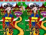 В этой игре Вам придется искать отличия на практически одинаковых картинках. Постарайтесь сделать это быстрее. Спрятано всего 10 отличий!.