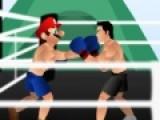 Перед вами еще одна игра в стиле драки один на один. Главным героем игры стал знаменитый Марио. Вы должны помочь ему победить соперника в кулачном бою на боксерском ринге. Используйте кнопки A и S для ударов правой и левой рукой. Стрелки для перемещения по рингу. А если нажать все стрелки по очереди, Марио совершит комплекс ударов.