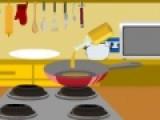 В этой игре Вам снова предстоит готовить еду. В этот раз вместе с известным поваром Вам предстоит готовить салат Голова Попугая. Необычное сочетание овощей, клубники и бекона подарит райское наслаждение тому, кто попробует этот великолепный салат.