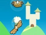 Молодая сова пытается долететь до своего гнезда по узкому лабиринту. Помогите ей преодолеть расстояние и не столкнуться со стеной или того хуже с летучей мышью. Звездные бонусы предадут совушке хорошего настроения!