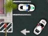 Настоящий полицейский что бы ловить преступников должен уметь водить. А значит и паковаться тоже. Пройди экзамен. Припаркуй полицейский автомобиль, что бы не повредить ни свой ни окружающий транспорт.