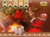 Превратись на время в помощника Санта Клауса. Он целый год готовил подарки для детей. Твоя задача правильно приклеить наклейки на упаковки. Что бы это сделать, перетаскивай наклейку на коробку при помощи мыши. Обрати внимание, что бы рисунок наклейки совпадал с рисунком на коробке.