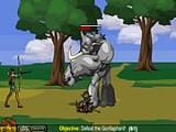 Поражайте стрелами ваших врагов, основная ваша цель это дракон, которого вы встретите в финале игры.