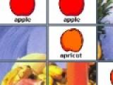 Фрукты плюс - это развивающая игра, которая проверит вашу память и внимательность. Ваша задача перевернуть все карты с фруктами. Открывайте одинаковые картинки, что бы карты остались в перевернутом положении.