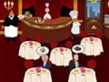 В этой игре Вам придется обслуживать гостей ресторана. И в зависимости от того, как быстро и качественно Вы их обслужите, будете получать деньги. Так что быть быстрым и вежливым в Ваших интересах.
