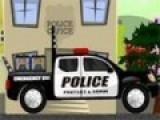 Постарайтесь как можно быстрее доставить пришельцев пойманных на улицах города в полицейский участок. А то они могут и сбежать. Но не смотря на спешку вези их аккуратно, что бы клетки не выпали из прицепа.