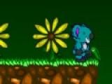 Blinky's Quest это игра бродилка, в которой твоя задача помочь персонажу добраться домой путешествуя по незнакомой планете. На его пути встретятся большое количество монстров и ловушек, которые предстоит обойти. Управление игры осуществляется стрелками клавиатуры. Что бы персонаж подпрыгнул, нажимайте на пробел. А кнопка Z активирует оружие, которое поможет Вам в борьбе с чудовищами. Красочный дизайн игры и увлекательный сюжет перенесут вас в мир приключения, и позволят испытать себя на крепость.