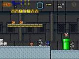 Продолжение увлекательно бродилки про то, как Соник оказался в мире Марио. Играйте за Соника, ходите, прыгайте на врагов. В игре оригинальная ретро-озвучка.