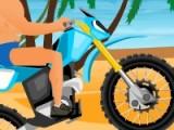 Игра Гонки на пляже (beach rider) предлагает вам проехать трассу за минимальное время, собрав при этом максимальное количество бонусов.