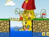 Сооружай мосты из дерева, железа и тросов, чтоб помочь зверушкам пересечь овраги добраться до флажка на всех уровнях. В игре присутствует отличная физическая модель!