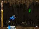 Вредный горный монстр случайно вылетел из украденной им самим телеги. Используйте мышь, чтобы управлять его полетом и привести его к безопасному приземлению. Избегайте скал, собирайте кристаллы, и камни мощности.