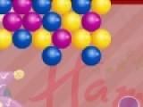 Эта игра похожа на классические пузыри. Но есть одно небольшое отличие. Ты должен лопать пузыри, стреляя из пушки разноцветными снарядами. Из некоторых пузырей будут выпадать игрушки. Чем больше игрушек ты словишь поездом, тем больше бонусных очков получишь.