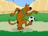 Скуби Ду очень любит играть в футбол. Сыграй с ним в эту увлекательную спортивную игру. Твоя задача помочь Скуби, как можно дольше, не дать мячу упасть на землю. Что бы отбивать мяч, нажимай на пробел, а что бы управлять персонажем используй стрелки.
