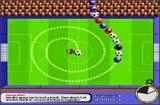 Игра zuma футбольными мячами на время. Кроме мячей встречаются и бомбочки и у вас есть 10 секунд для их уничтожения.
