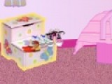 Цель этой игру уборка в розовой комнате. Наша героиня позвала в гости девочек и к их приходу должна навести уборку. Помогите ей правиться с этой задачей. С каждым уровнем убирать нужно будет все больше вещей.