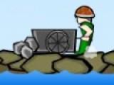 В игре SALO вы должны собирать драгоценные камни падающие с проезжающего сверху поезда. На сбор драгоценностей у вас с каждым уровнем будет все меньше времени. К тому же падать будут не только драгоценности ни о обычные камни, от которых нужно убегать. При помощи кнопок A и D управляйте Вашим персонажем.