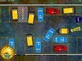 Поставь такси на стоянку за ограниченное время, не ударяя при этом другие машины!