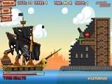 Когда пираты отправляются за сокровищами их не сдержит ни один флот и даже огромные плавучие крепости вооруженные пушками не помеха для отважных последователей Веселого Роджера, метко стреляющих из всех бортовых орудий!