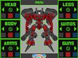 В этой игре Вам нужно воспользоваться конструктором роботов-трансформеров и собрать собственного робота!