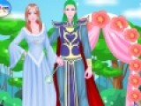Эльфийская невеста выходит замуж. Цель этой игры одевалки подобрать для нее самый лучший свадебный наряд. Стань стилистом на этой свадьбе и создай неповторимый образ для великолепной принцессы.