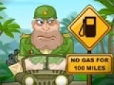Эта красочная игра на ловкость увлечет с первой секунды и перенесет в необычный мир, в котором У военного генерала закончился бензин прямо посреди джунглей. Но у него был огромный запас гранат. Помоги генералу преодолеть джунгли и добраться до контрольной точки помеченной флагом. Нажимай на пробел, что бы взорвать гранату и используй стрелки, что бы автомобиль полетел в нужном направлнии. Чем больше гранат ты взорвешь, тем выше взлатит джип генерала. Собери все звезды, что бы генерал не с пустыми руками вернулся в подразделение.