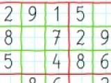 Перед Вами очень увлекательная математическая головоломка, которая знакома многим. Цель головоломки заполнить все пустые клеточки цифрами. Цифры в столбцах и рядах не должны повторяться.