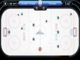 Настольный хоккей чемпионата КХЛ. Выбираем свою команду Континентальной хоккейной лиги, скорость игры, уровень сложности и вперёд, забивать! Играть можно как против компьютера, так и против друга на одном компьютере.