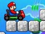 Теперь у Марио наконец то появился автомобиль на котором он может преодолеть все преграды и обогнать соперников на пути к спасению принцессы. Советую Вам посетить пункт меню Tutorial в котором тщательно описывается как же управлять игрой.