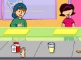 В этой игре тебе предстоит обслуживать голодных обжор, которые ждут очередную порцию вкусностей. Но заказы у них у всех разные. Твоя задача как можно качественнее их обслужить. Перетаскивай мышкой еду на подносы обжор и не перепутай порции местами.