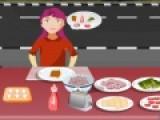 Вы работаете в бутербродной и ваша задача качественно обслуживать клиентов. Вы должны готовить еду так, как заказал клиент. И от того какое будет обслуживание, зависит сколько бонусов принесет вам игра.