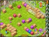 Очень красочная логическая игра, в которой Вы должны помочь маленькой волшебнице расставлять магической палочкой кубики в ряд по цветам, чтоб взрывать ящики и освобождать проход к потайной двери на следующий уровень.