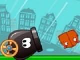 В этой игре тебе придется помочь котикам добраться до мешка с рыбкой. Для этого у тебя есть мощная пушка. используй ее правильно.