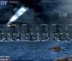 Захватывающий фантастический боевик на тему войны с космическими захватчиками. Плоскость действия регулярно меняется. Вооружение совершенствуется по ходу игры. В конце уровней вас ждут боссы.
