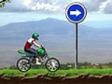 Гонки на мотоциклах, очень увлекательный вид спорта. Но некоторые мотогонки проходят в условиях бездорожья, что бы проверить и испытать мастерство гонщика. Помоги герою преодолеть сложную трассу на мотоцикле и не перевернуться преодолевая горные неровности.