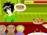 Эта игра понравится тем, кто любит готовить. Цель игры приготовить пончики для посетителей кондитерской. За ограниченный промежуток времени вы должны обслужить определенное количество посетителей. Кликните по человеку, что бы узнать какой пончик он хочет.