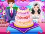 Представьте, что Вы дизайнер кондитерских изделий. Сыграйте в яркую игру для девочек и создайте самый красивый свадебный торт по собственному вкусу.