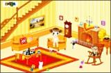 Девочка которая живет одна и ей бывает часто скучно, хочется себе создать игровую комнату. Там она будет проводить свое свободное время. Постарайтесь заняться дизайном и оформлением этой комнаты.