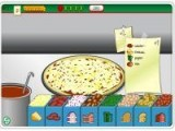 Флеш игра, в которой нам предстоит делать пиццу. И не просто делать, а успевать выполнять все заказы!