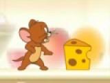 Эта игра про Тома и Джери. Мышонок Джери хочет накормить своего племянника, а кот Том пытается ему в этом помешать. Выберите героя за которого собираетесь играть. От этого будет зависеть, какое задание будет перед Вами. Если Вы Джери, тогда нужно собирать кусочки сыра и бросать их вниз племяннику, но только так, что бы он мог поймать еду. Если Вы будете играть За тома, нужно бросать в Джери мячи с водой, что бы он потерял лакомства. Передвигаются герои при помощи стрелок на клавиатуре. А пробел отвечает за действия. Например, за бросок мяча или подъем сыра.