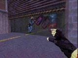 Действие игры происходит на карте Assault. Вы должны как обычно всех убить, но какое выбрать оружие и как его применить - придется подумать