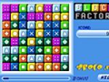 Передвигайте блоки таким образом, что бы они выстраивались в цепочки из одного цвета. После этого они исчезнут. чем больше блоков Вы уберете, тем больше бонусов получите.